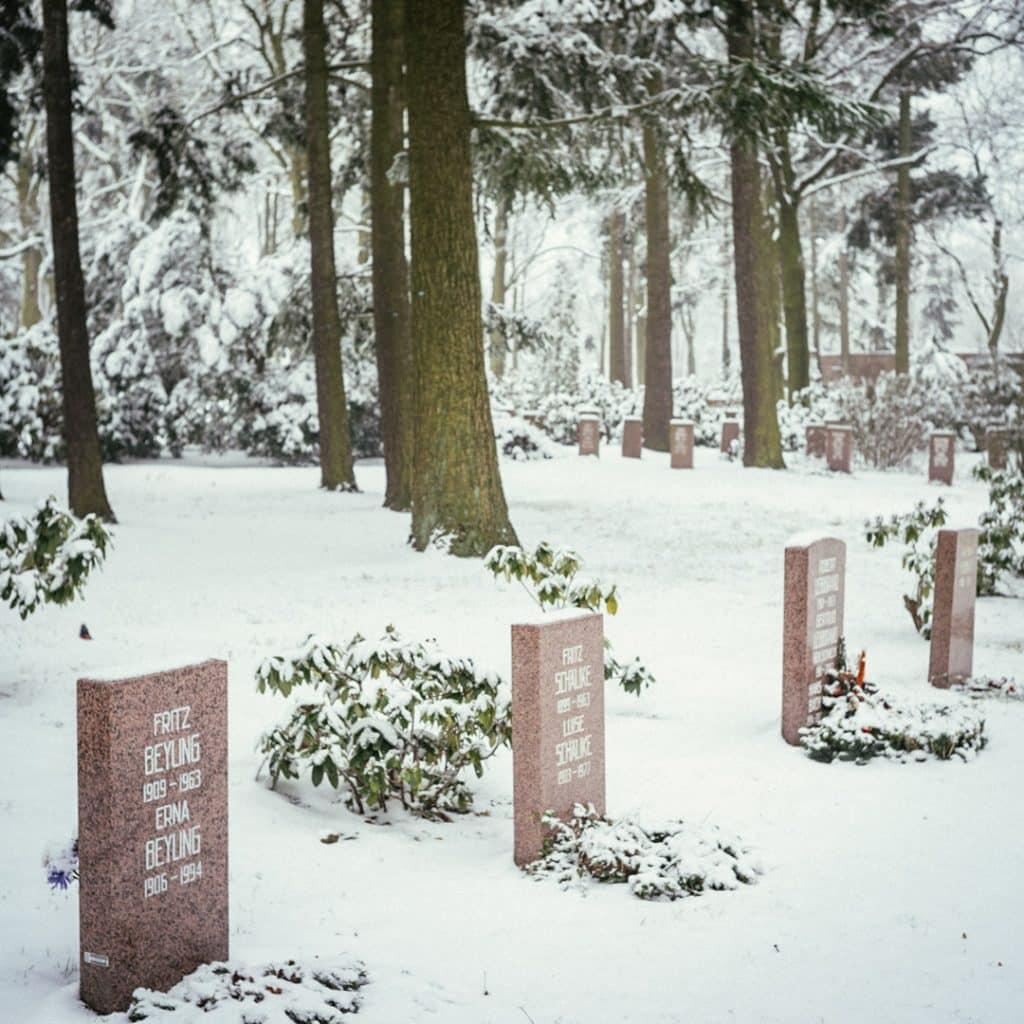 the Socialist Cemetery in Friedrichsfelde