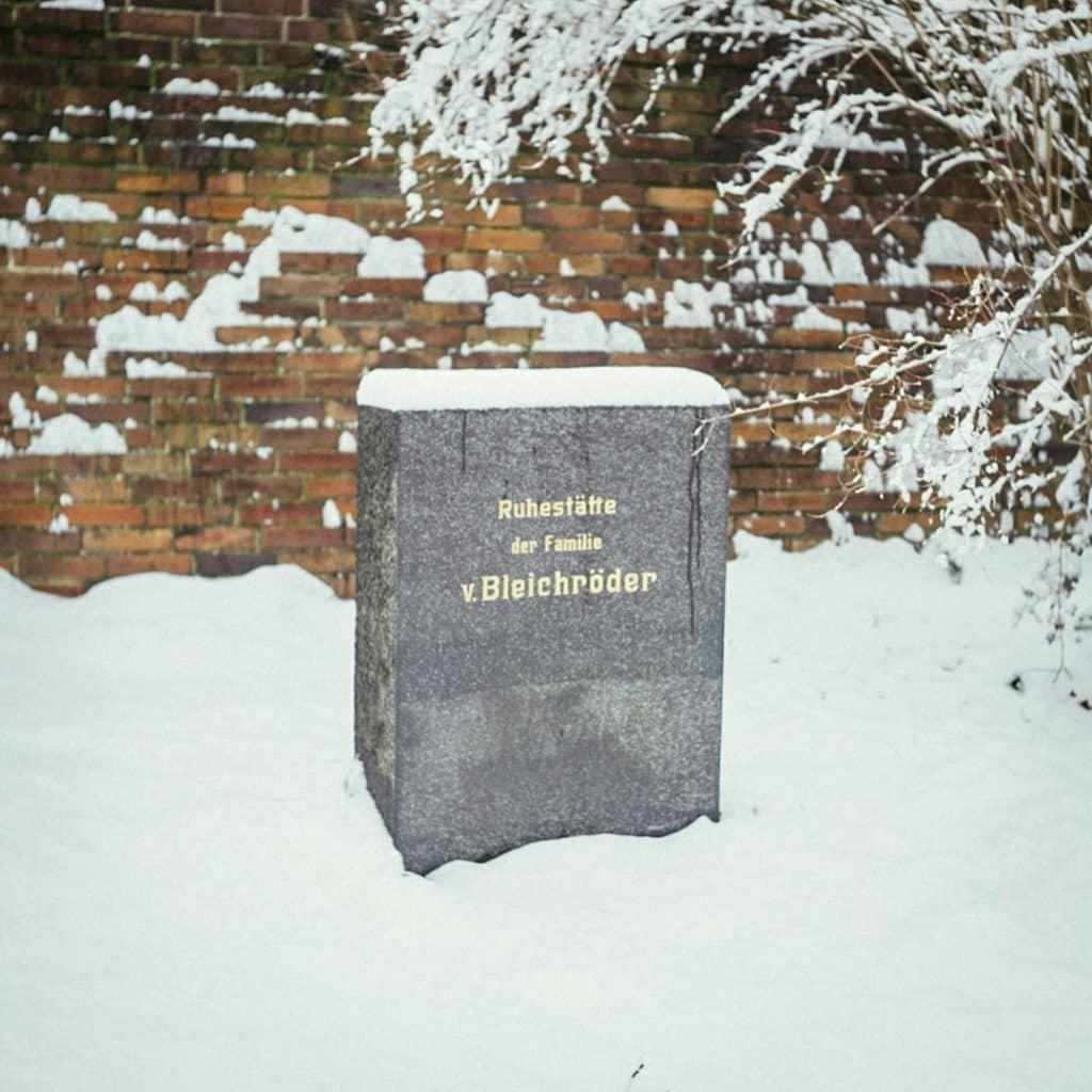 Gerson von Bleichröder's grave in the Socialist Cemetery in Friedrichsfelde