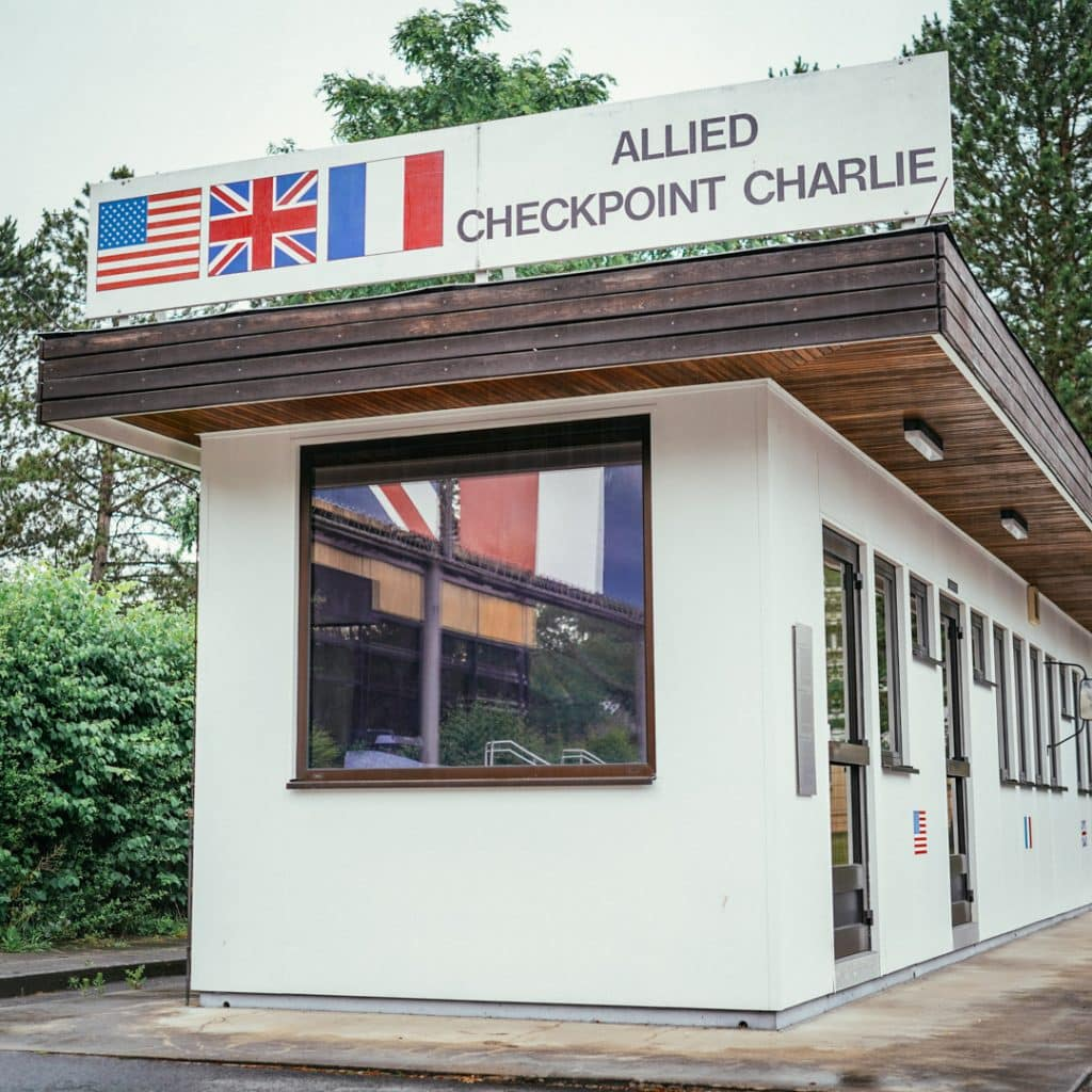 Checkpoint Charlie at the Allied Museum