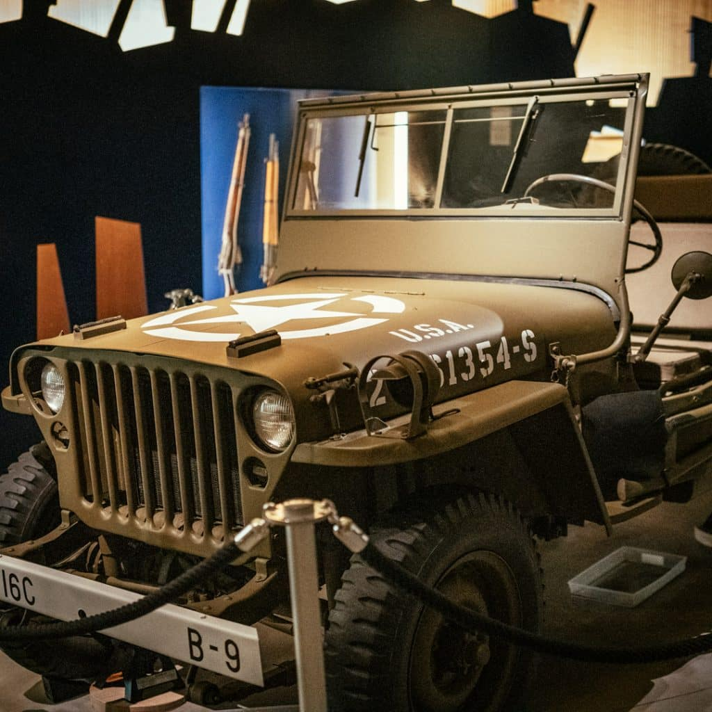 US Jeep in the Allied Museum