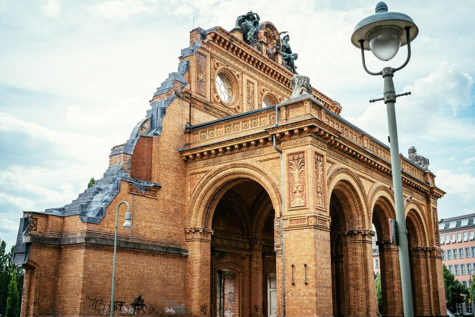 The Ruins of Anhalter Bahnhof