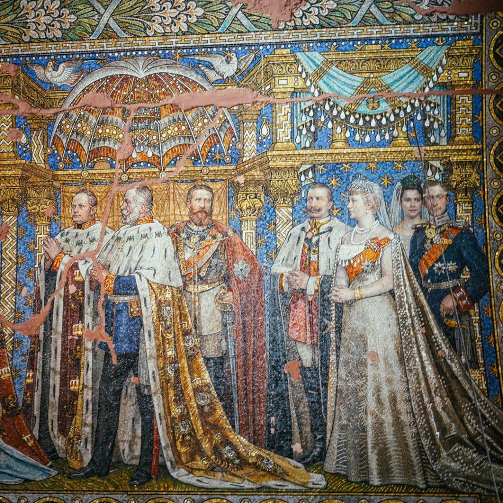 Mural Inside the Kaiser Wilhelm Gedächtnis Kirche