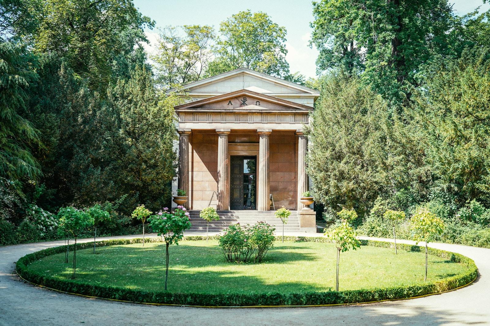 The Mausoleum at Schloss Charlottenburg