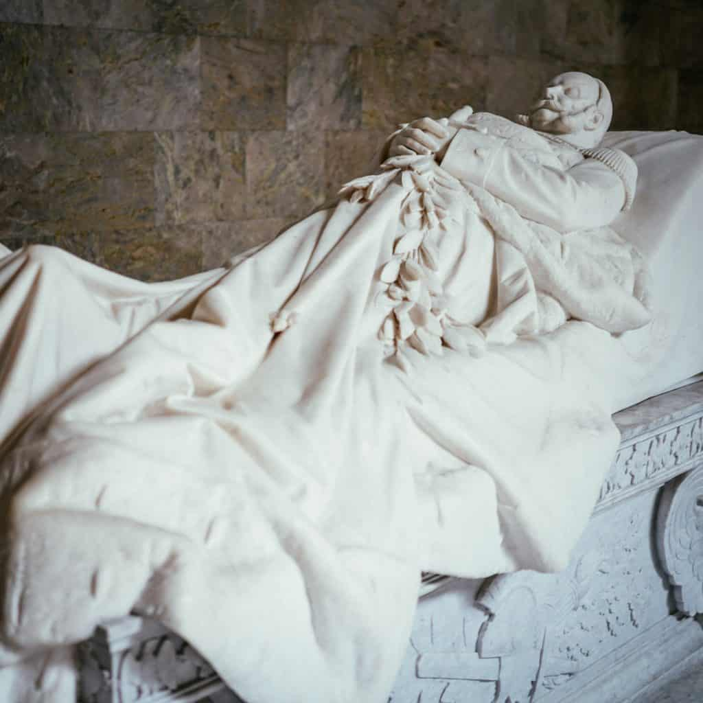 Kaiser Wilhelm at The Mausoleum at Schloss Charlottenburg