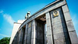 The Soviet War Memorial in the Tiergarten