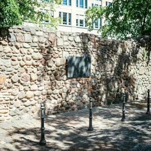 The Berliner Stadtmauer
