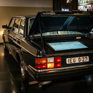 The BonzenVolvo in the DDR Museum