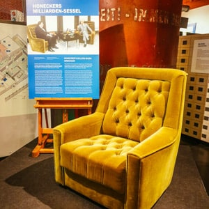 Erick Honecker's Chair in the DDR Museum