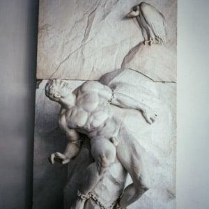 Prometheus Statue in the Academy of Art in Berlin