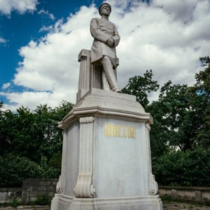 The Moltke Statue in the Tiergarten