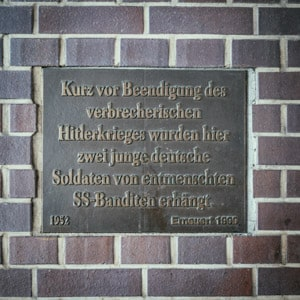 Friedrichstrasse Memorial for Fallen Soldiers