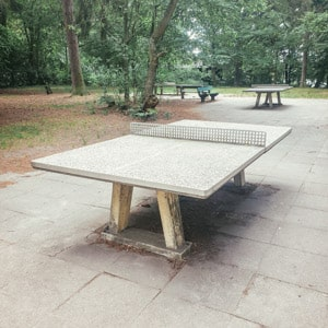 The Table Tennis Table in Berlin