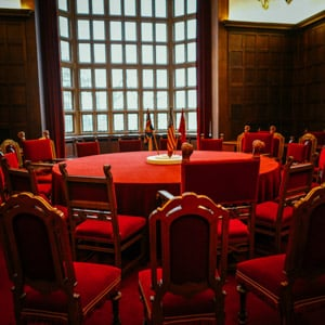 The Potsdam Conference Table
