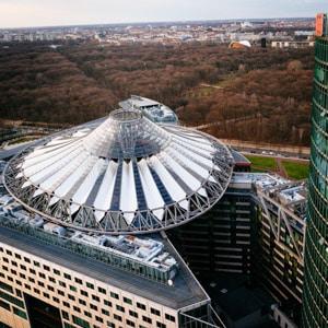 The Potsdamer Platz Sony Centre