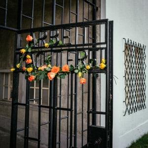 The Sachsenhausen Arbeit Macht Frei Gate