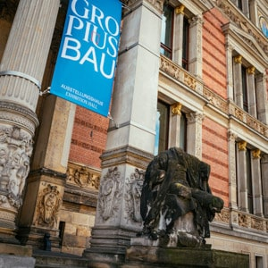 The Martin Gropius Bau and Statues in front