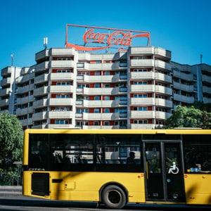 The Coca Cola Building in Berlin
