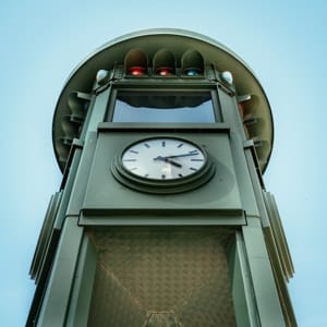 The Potsdamer Platz Traffic Light