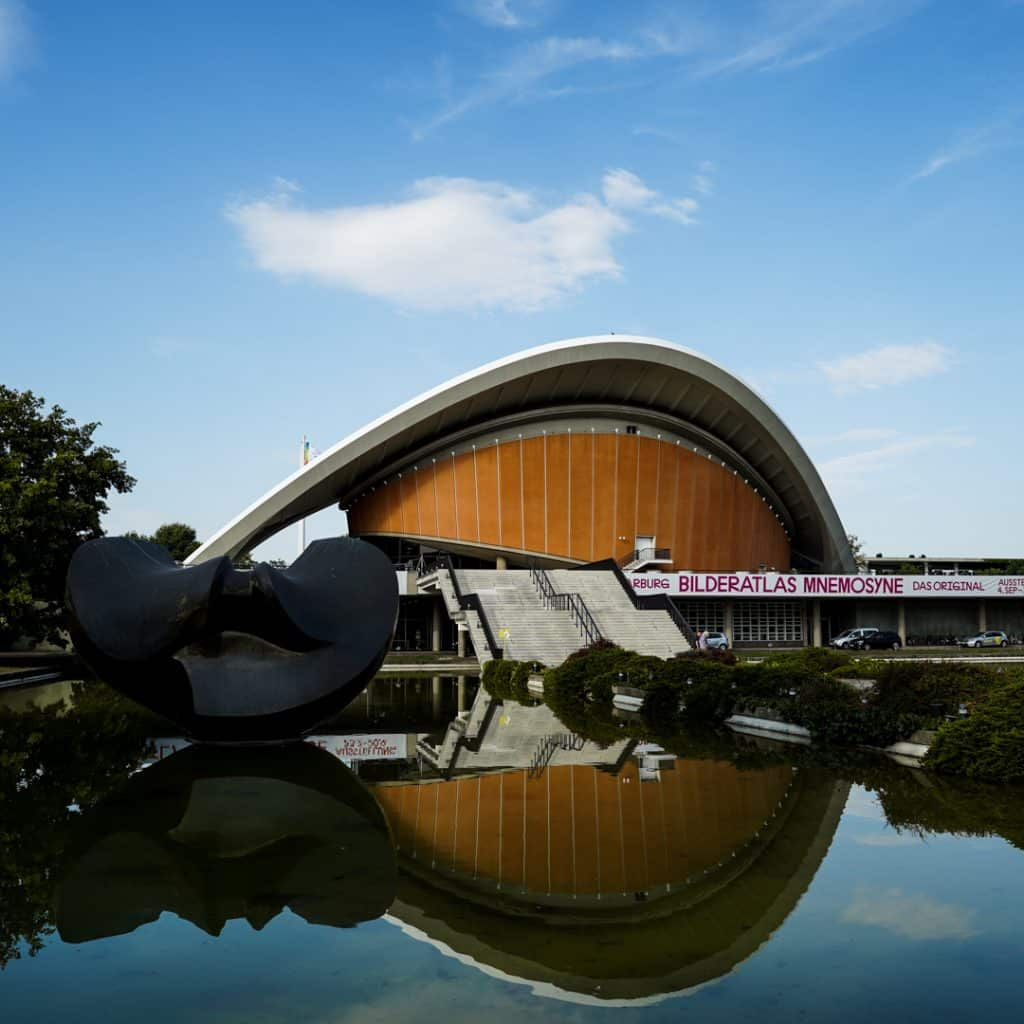 West Berlin Congress Hall - Haus der Kulturen der Welt