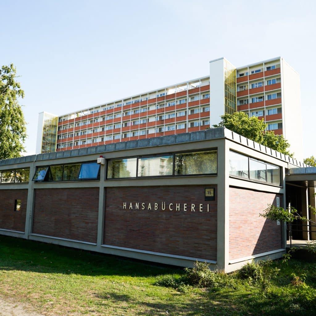 Hansaburcherei and Fritz Jaenecke and Sten Samuelson Haus