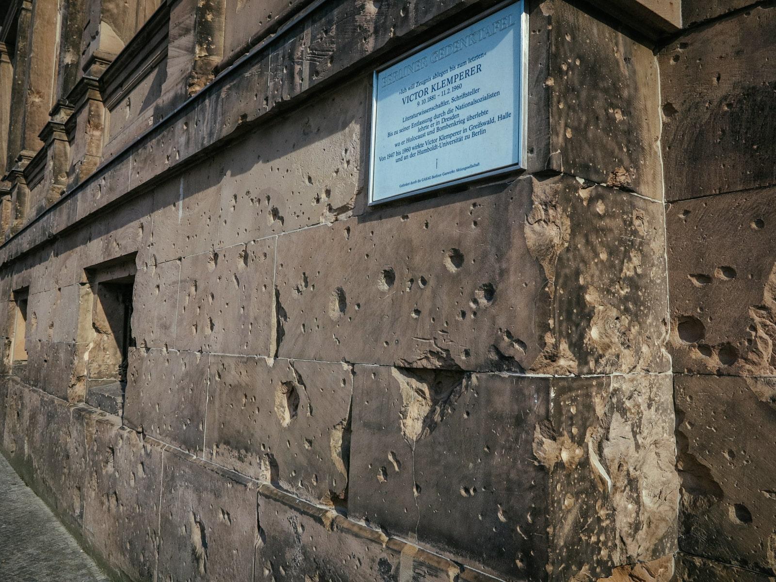 Berlin War Damage in the Mitte district