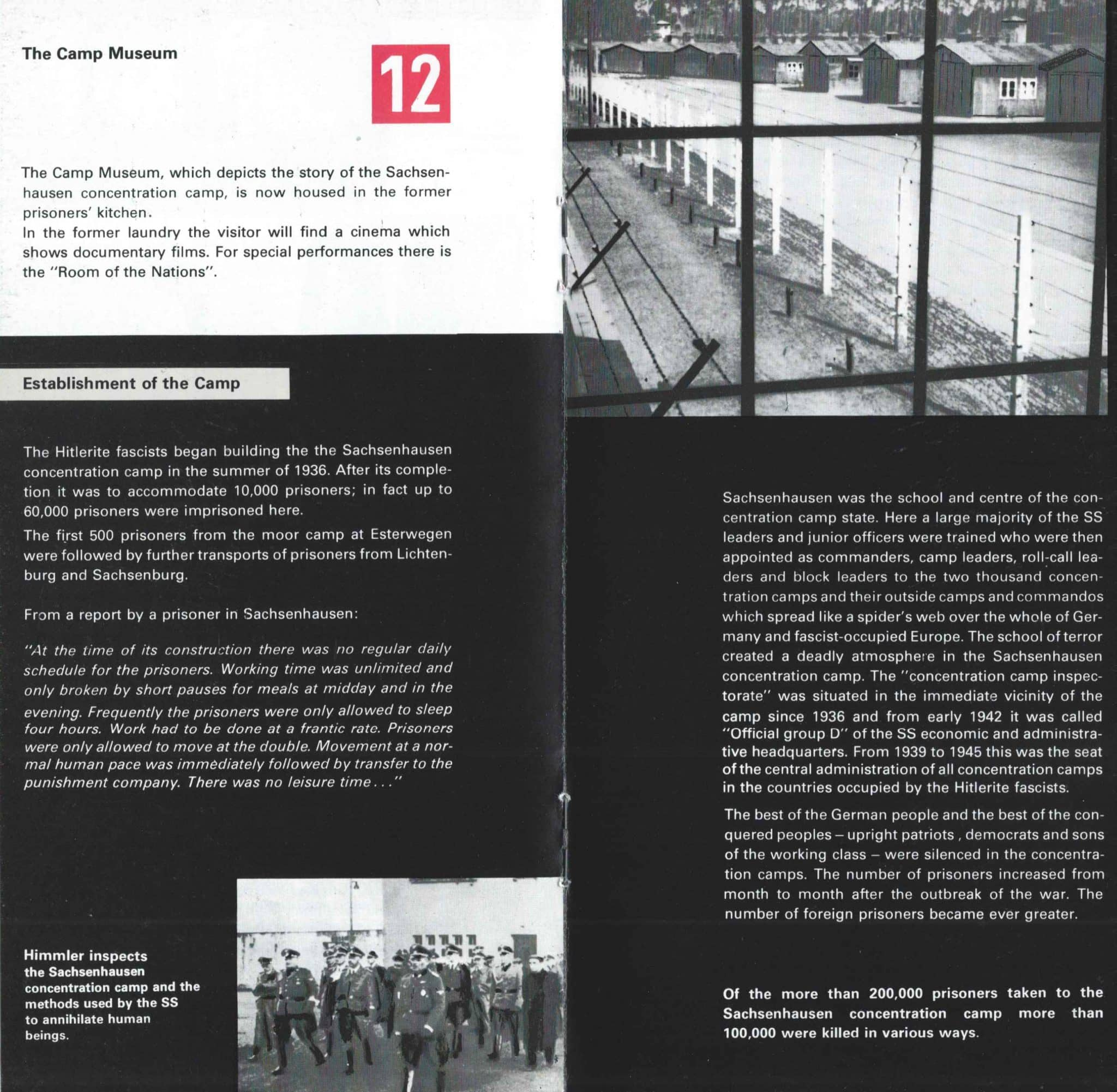 Sachsenhausen Concentration Camp In The DDR - 10