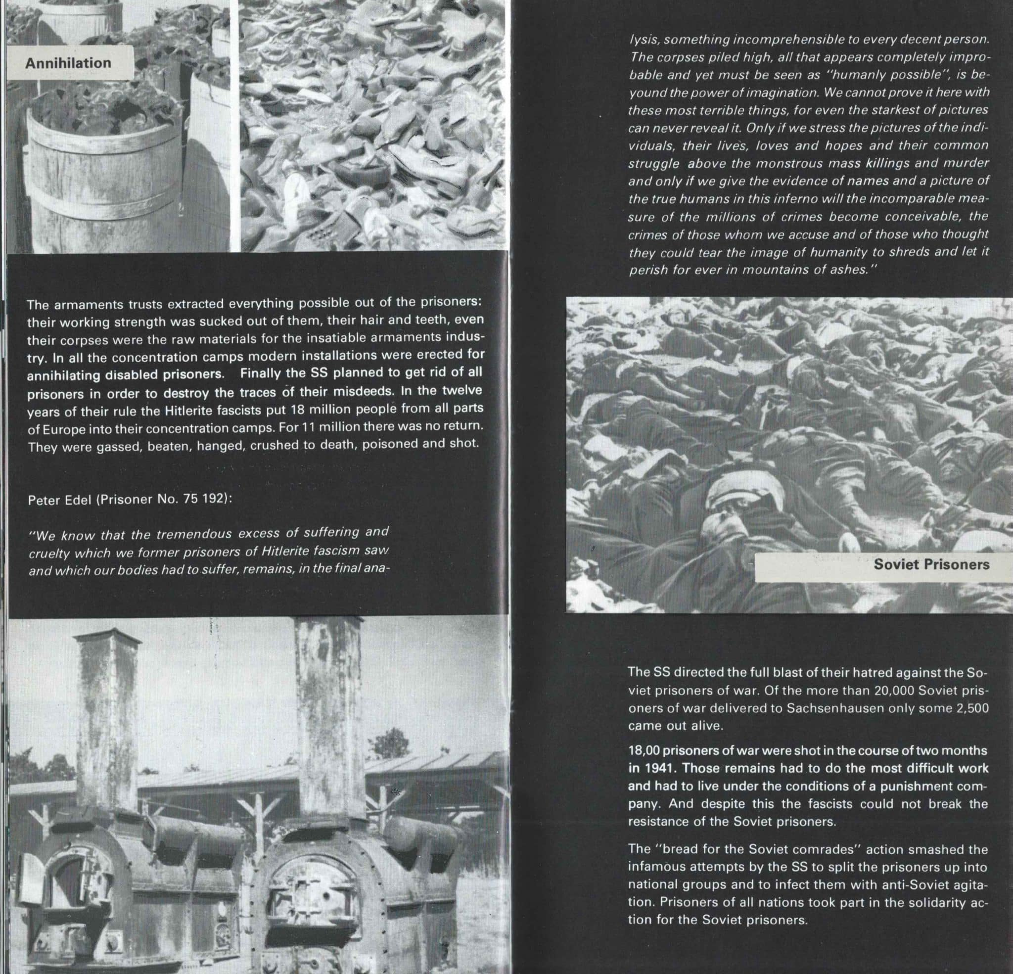 Sachsenhausen Concentration Camp In The DDR - 14