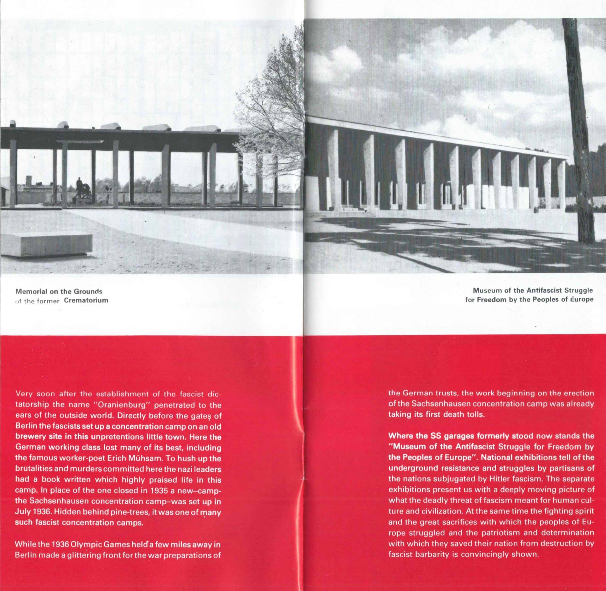 Sachsenhausen Concentration Camp In The DDR - 3