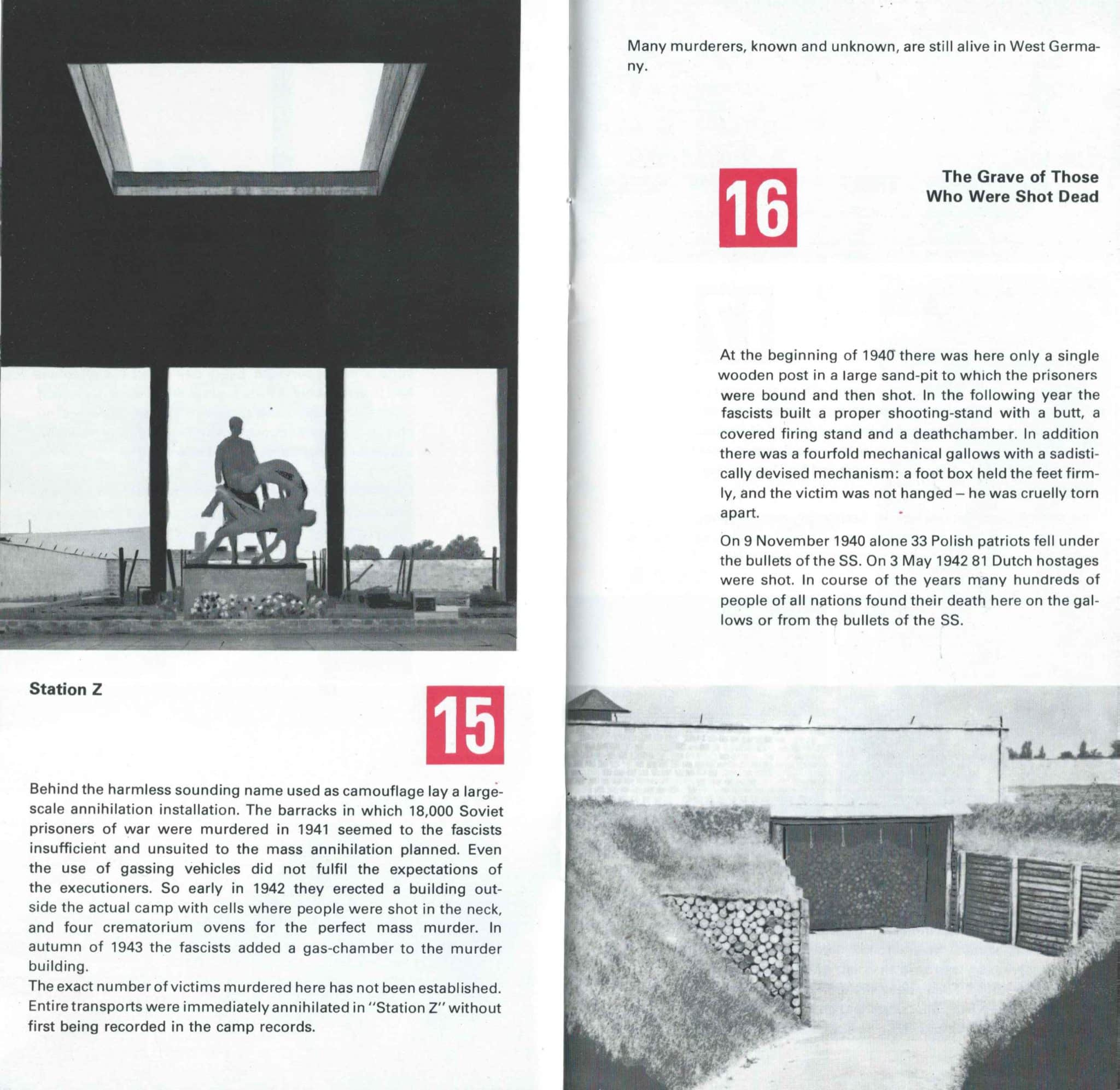 Sachsenhausen Concentration Camp In The DDR - 6
