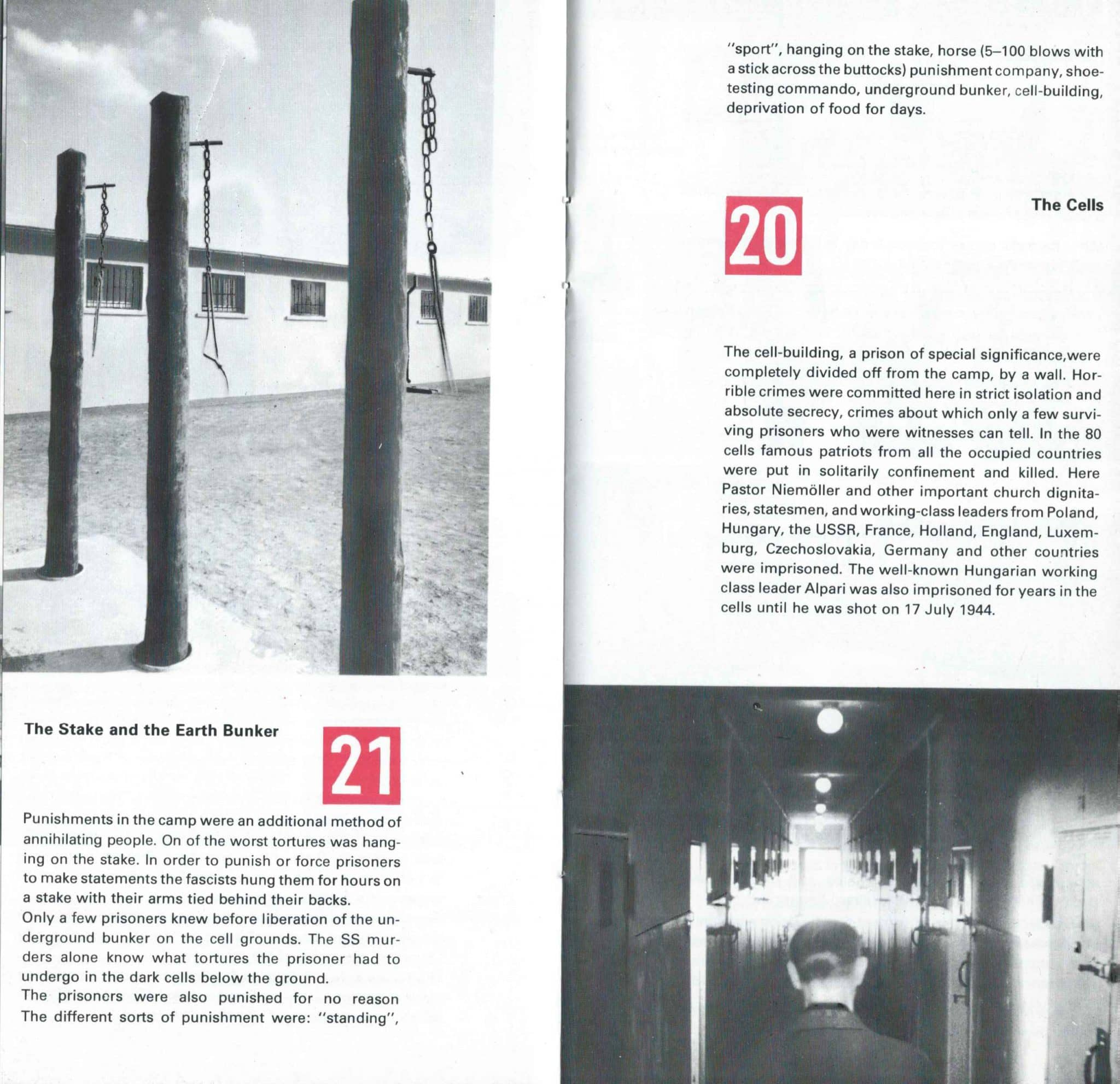 Sachsenhausen Concentration Camp In The DDR - 8