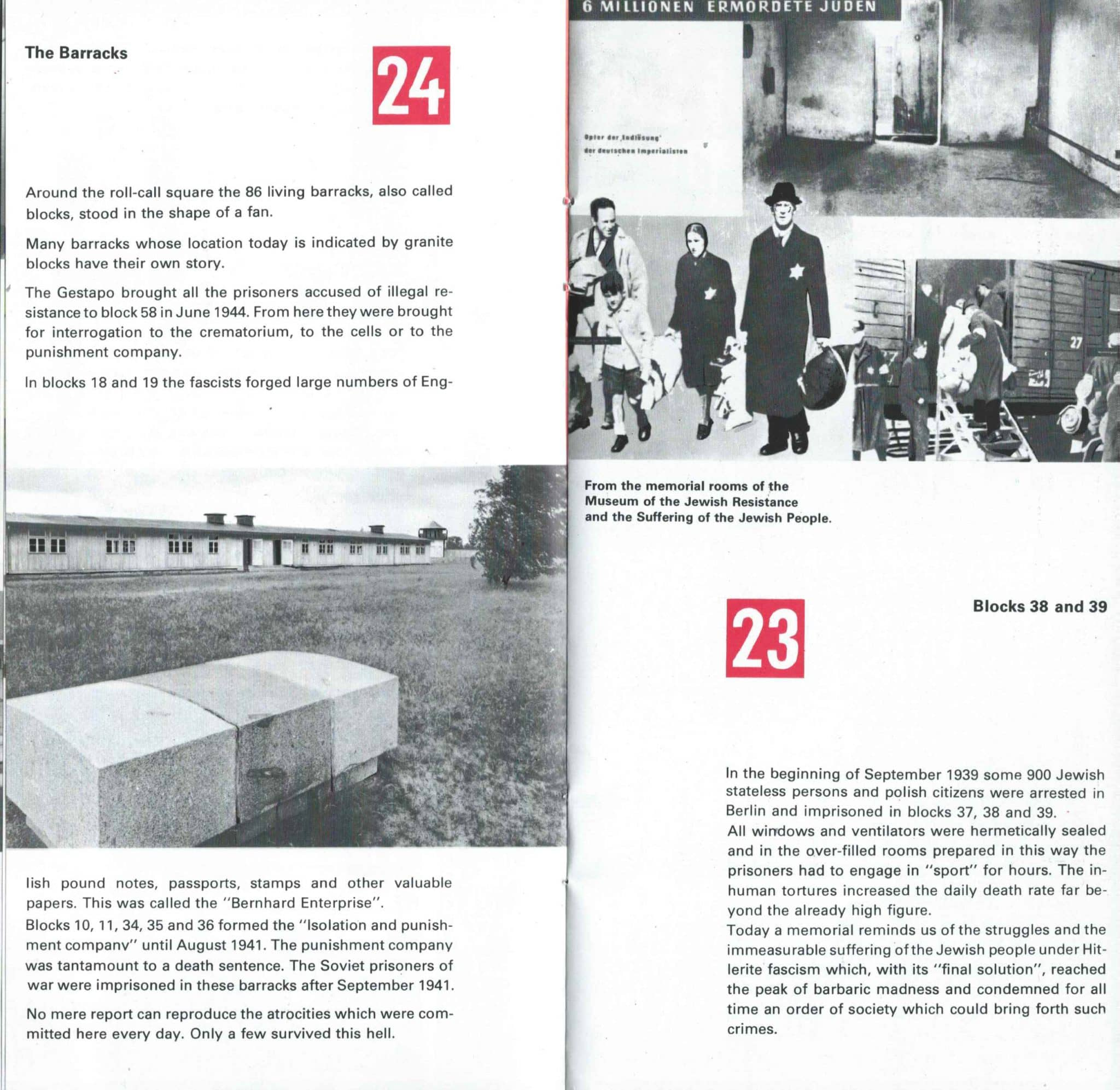 Sachsenhausen Concentration Camp In The DDR - 9