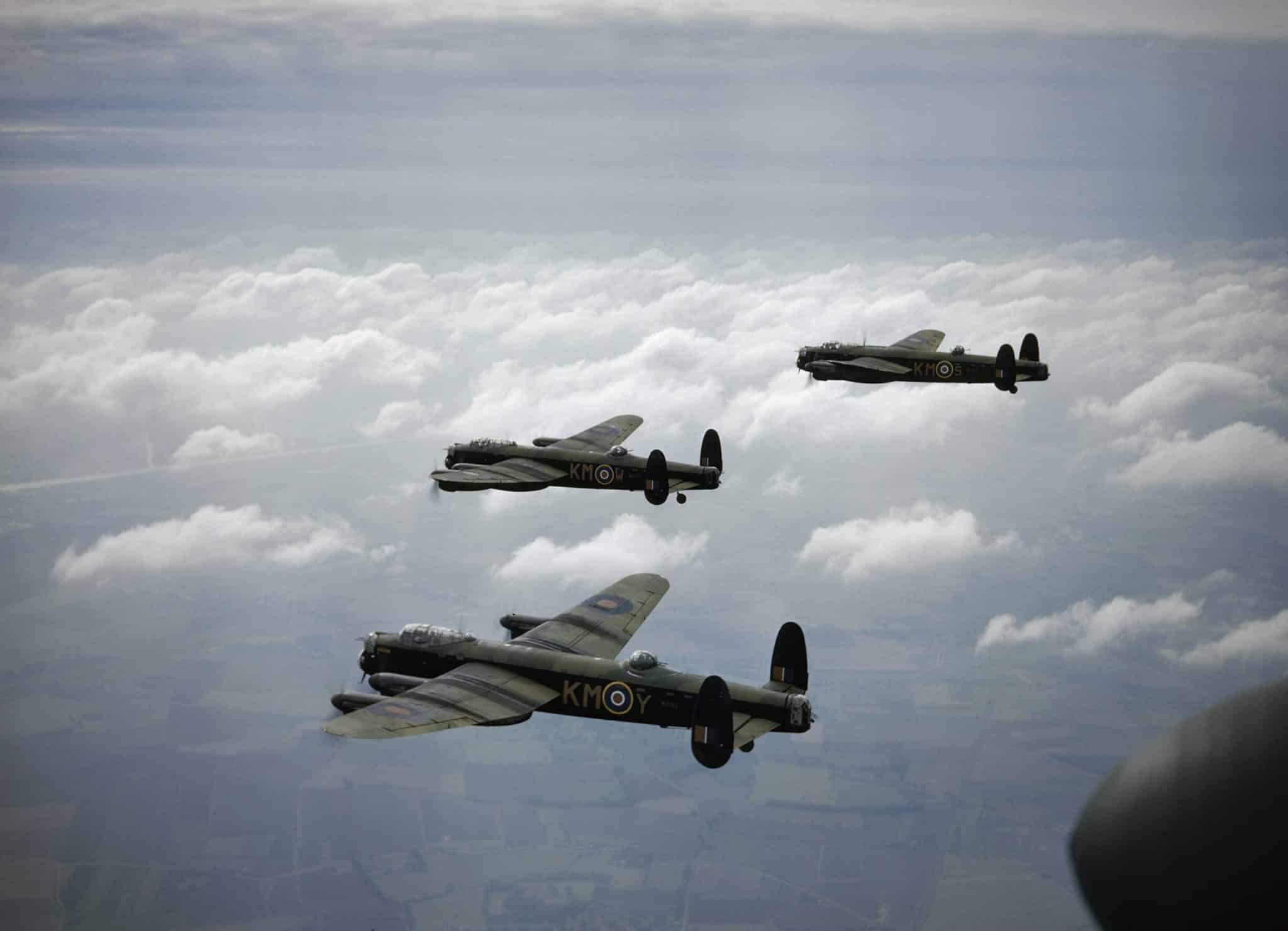 Battle of Berlin Lancaster bombers