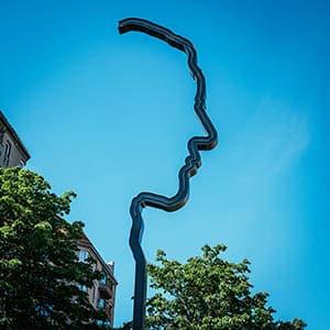 Georg Elser Memorial on Wilhelmstrasse