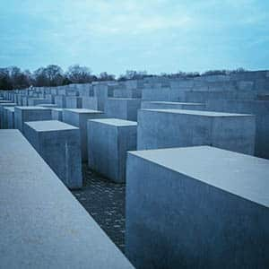 Memorial for the murdered jews of europe in Berlin