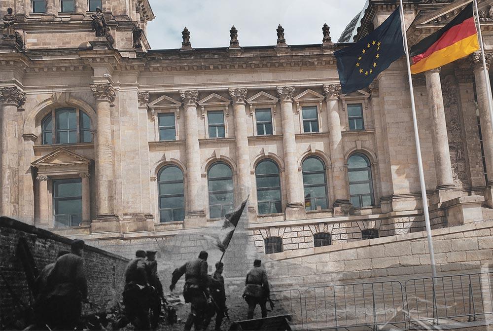 Berlin Experiences Reichstag Soviet Attack