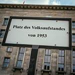 The Platz des Volksaufstandes