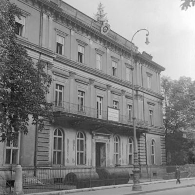 The headquarters of the Nazi party in Munich