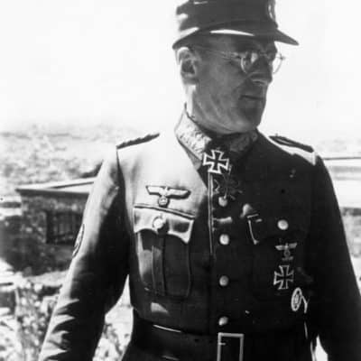Marshal Schörner, head of Army Group Centre
