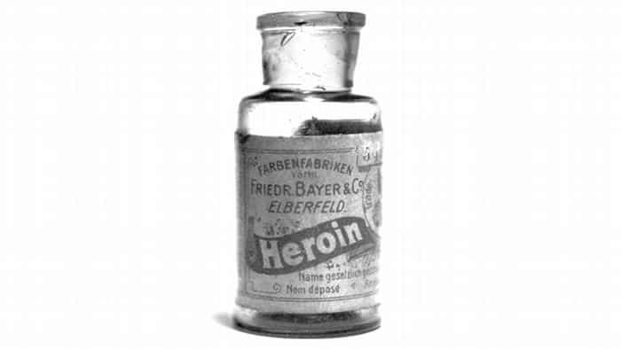 Introducted by German company Bayer in 1895, diacetylmorphine is better known by its tradename: Heroin