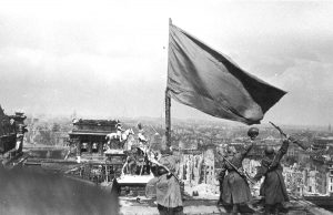 Red Army banner party on the Reichstag