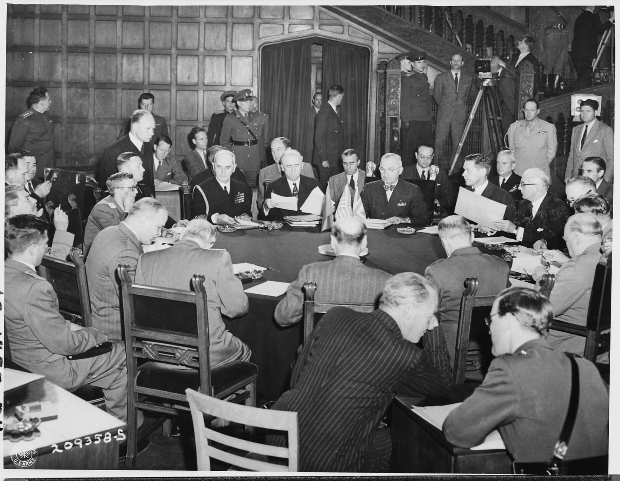 The Potsdam Conference - July 19th 1945 - Tensions would flare at the third plenary session on July 19th 1945