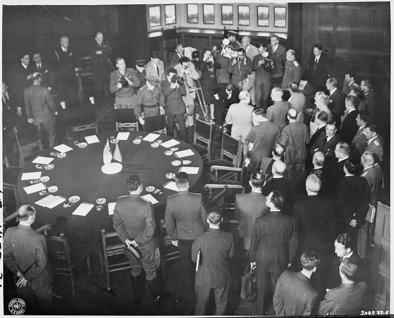 The Potsdam Conference - July 17th 1945 - The Big Three start the Potsdam conference on July 17th 1945