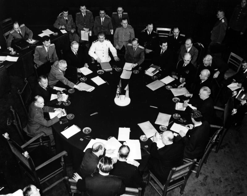 The Potsdam Conference - July 23rd 1945 - July 23rd 1945 would be the 7th plenary session of the Potsdam Conference