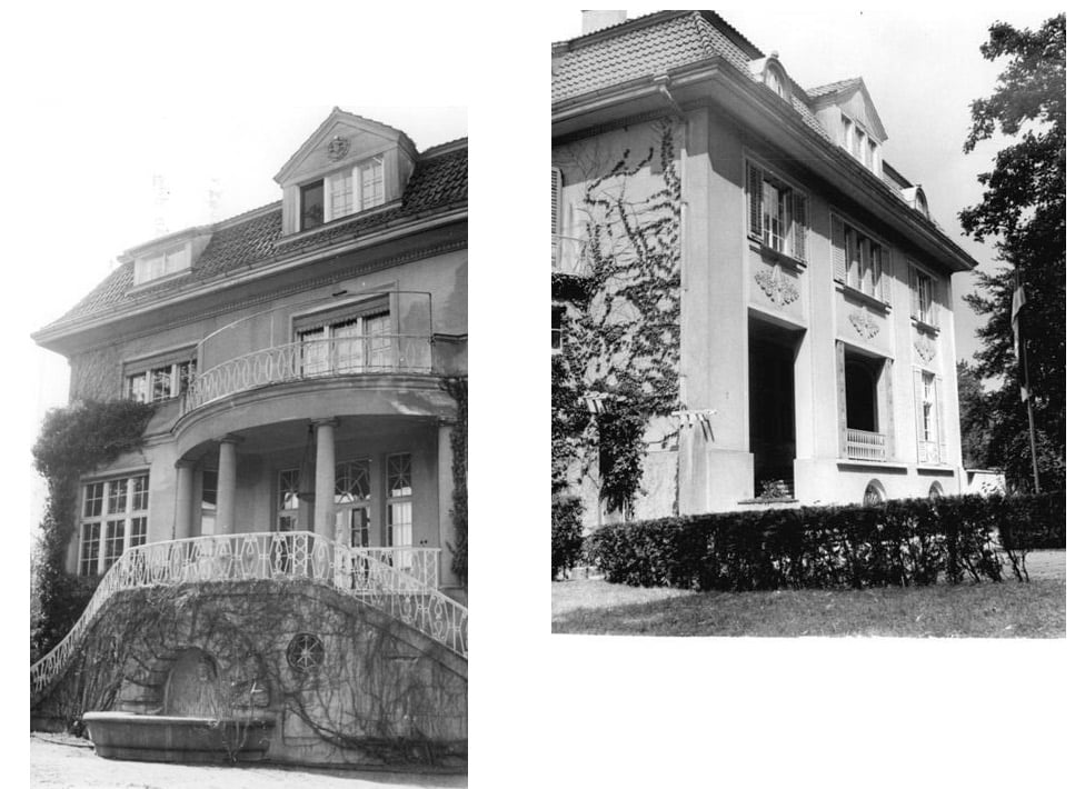 The Potsdam Conference - July 16th 1945 - Stalin's Residence for the Potsdam Conference (Villa Urbig)