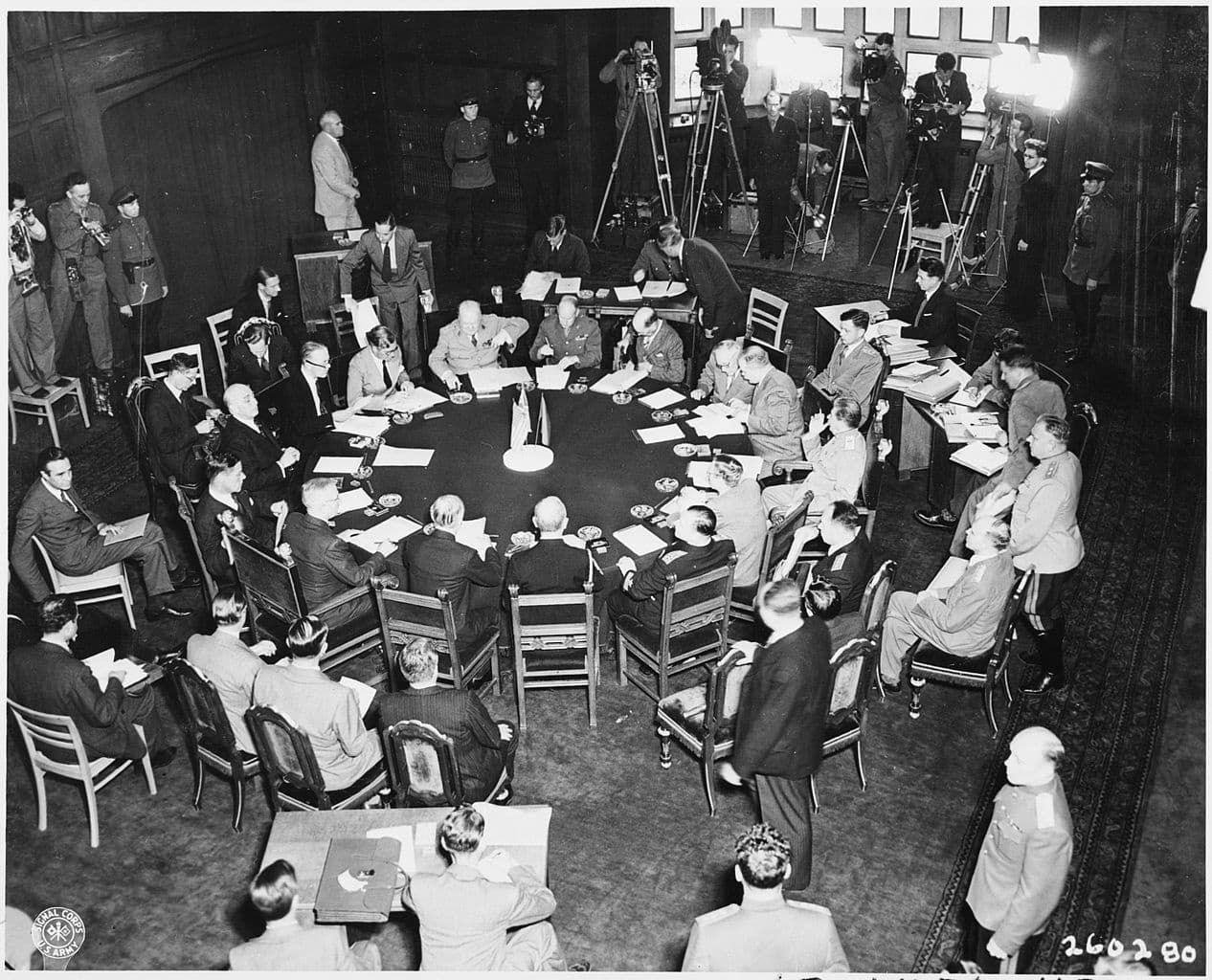 The Potsdam Conference - July 18th 1945 - The second plenary session of the Potsdam Conference begins on July 18th 1945