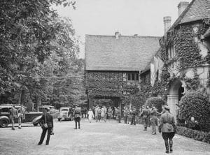 Potsdam Cecilienhof Entrance - July 18th 1945