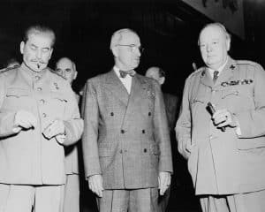 The Potsdam Conference - July 17th 1945 - The Big Three