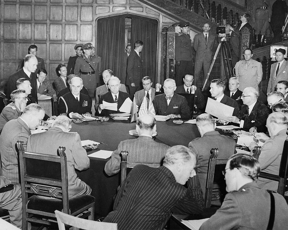The Potsdam Conference - July 19th 1945 - The Fate Of Europe