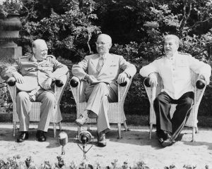 The Potsdam Conference - July 25th 1945 - Churchill Departs