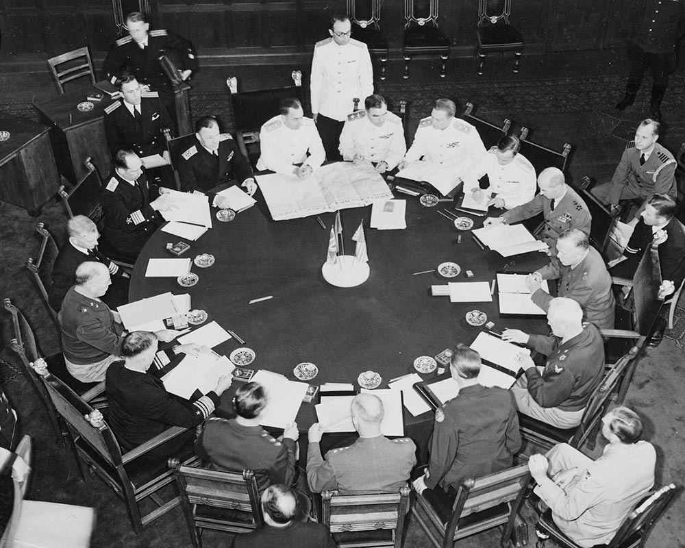 The Potsdam Conference - July 27th 1945 - The Price Of Peace